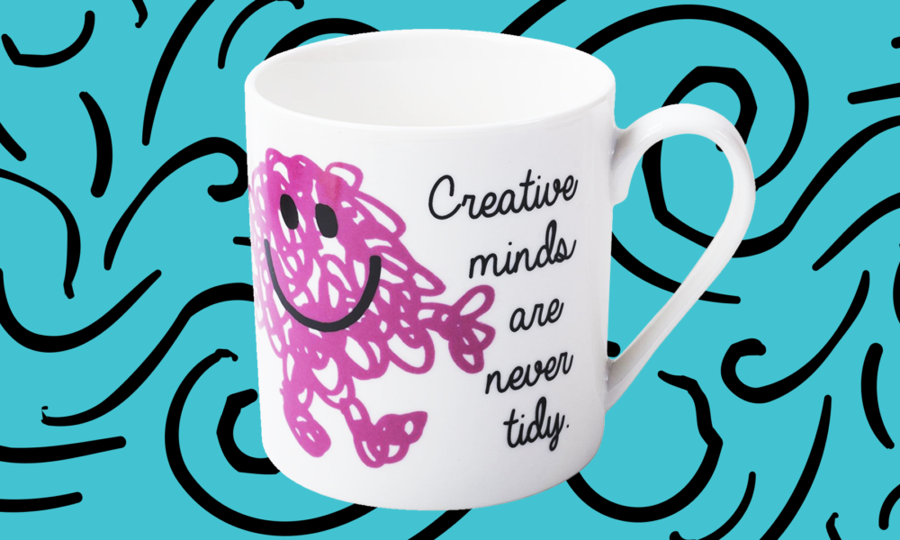 Be Messy - It's Good for Your Creativity!