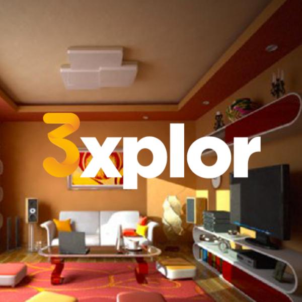 3Xplor Logo On Bg